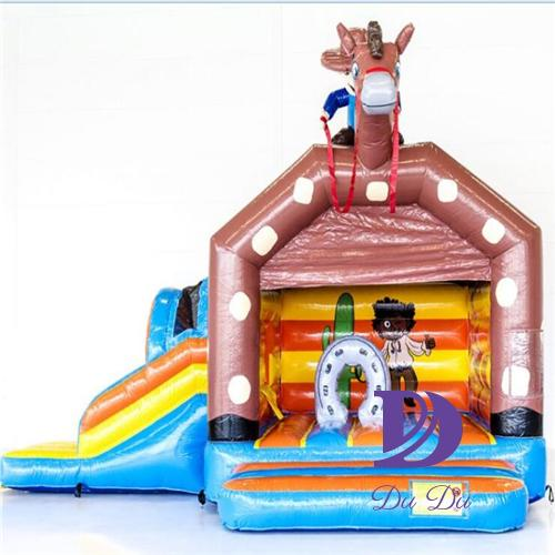 Inflatable Combo bouncer castle with EN14960 certification