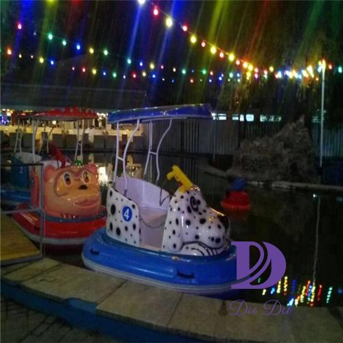 New design FRP material electric water boat for sale