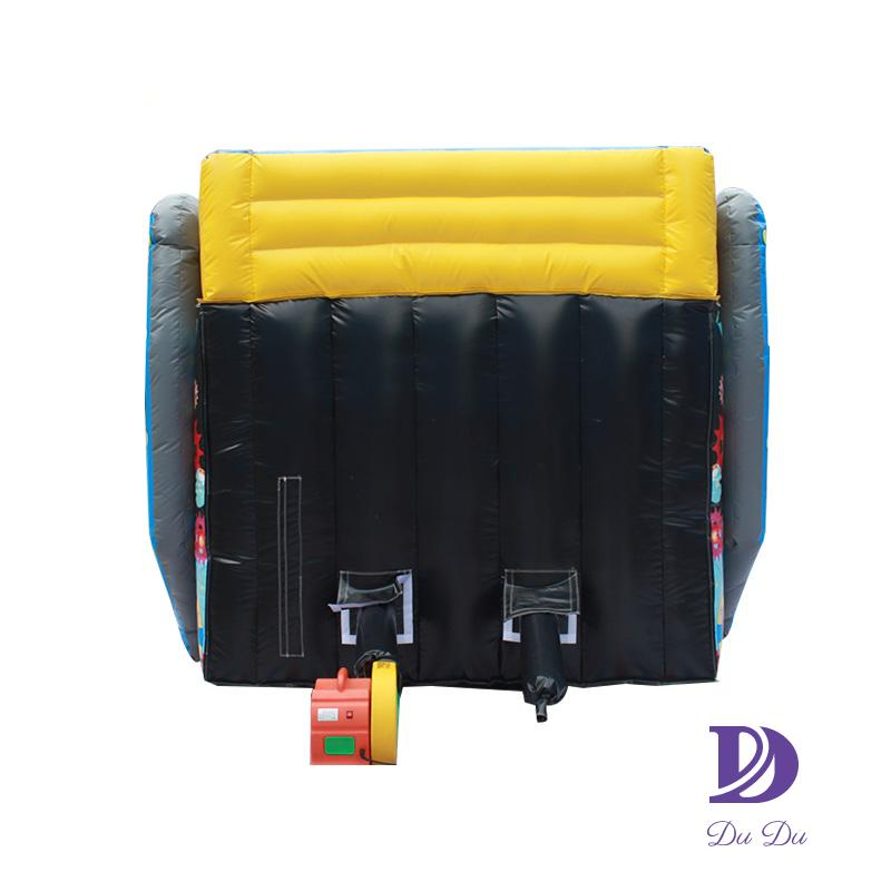 Fast supplier durable PVC material blow up obstacle course for sale
