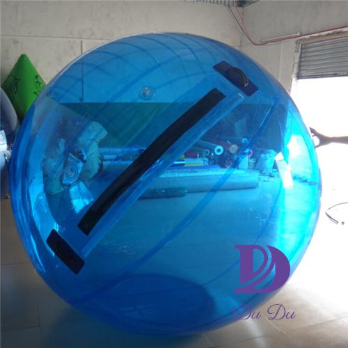 Customized PVC or TPU water ball with free pump for sale