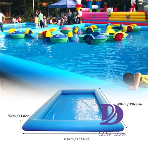 Manufacture durable PVC material blow up pool for sale