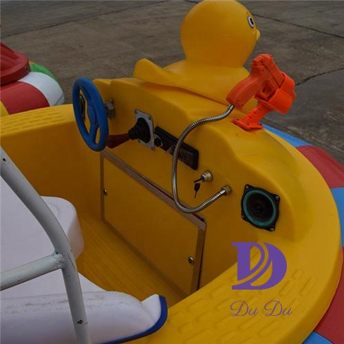 New design durable plastic bumper boats for sale