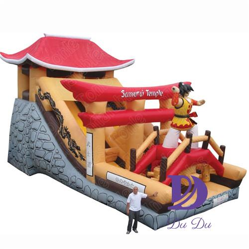 New Nijia theme beautiful inflatable slide for rental