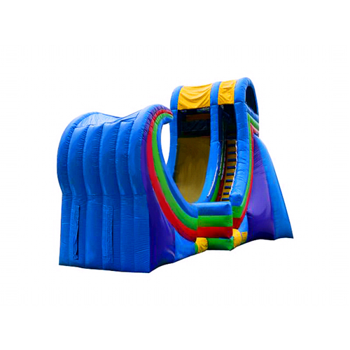New type play durable big inflatable slide for sale