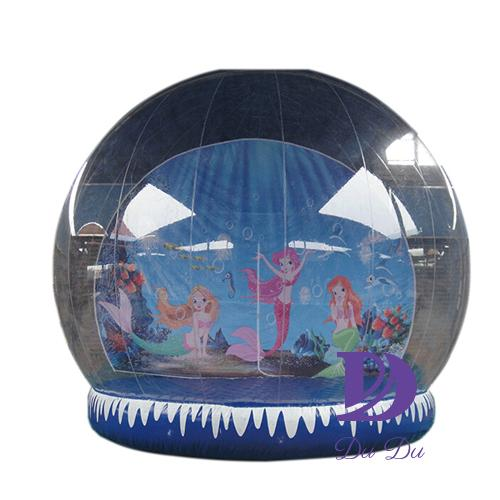 Factory price human snow globe with EN14960 certification for sale
