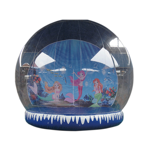 Christmas day use giant snow globes inflatable for sale