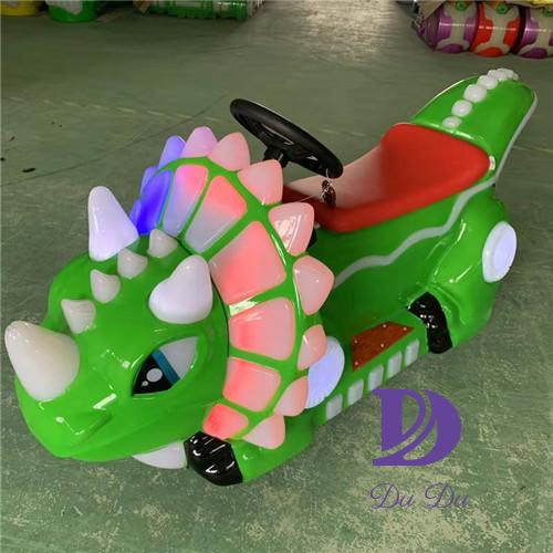 Dinosaur theme electric motorcycle for kids