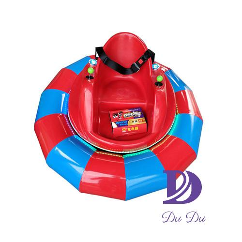 Small FRP material dodgems with inflatable tube for sale