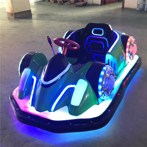 New design plastic dodgem cars with battery power for sale