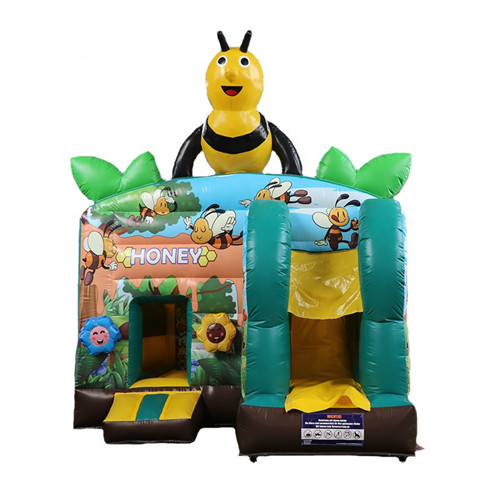 Bee theme inflatable house of bounce for sale