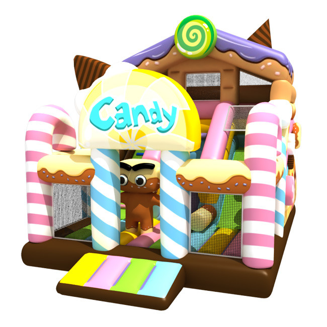 Candy theme design inflatable house for sale