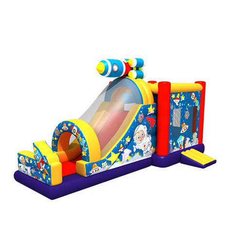 spaceman theme kids bounce house for sale