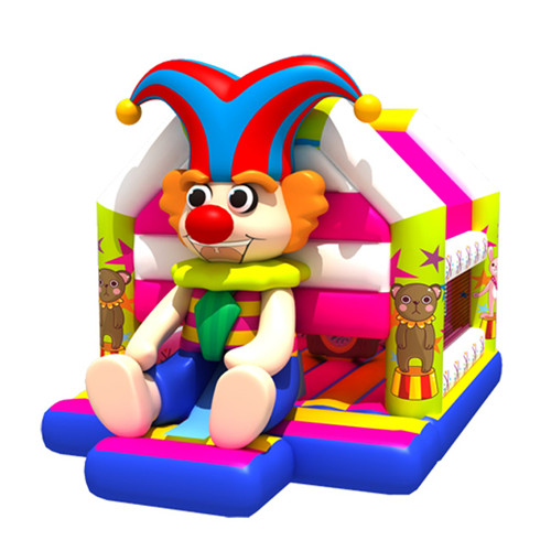 New design clown durable moon bounce for sale