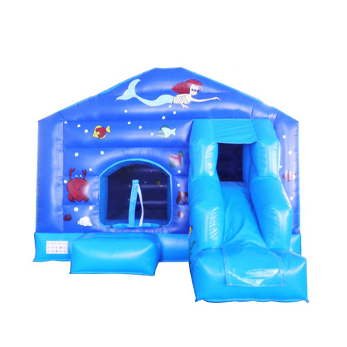 Blue style party jumpers with slide for sale