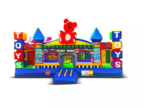 New design toy theme inflatable fun city for sale