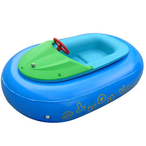 Colorful inflatable tube motorized bumper boat for sale