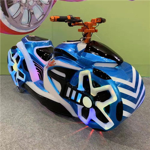 New design sci-fi battery operated motorcycle for kids